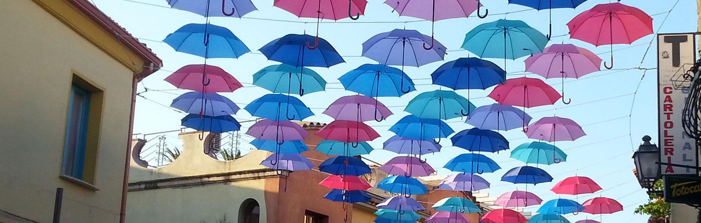 addobbo con ombrelli